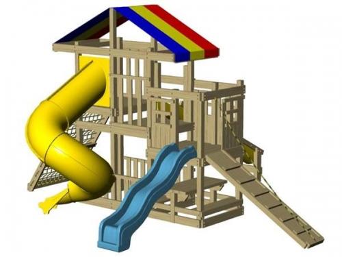 Juegos infantiles residenciales